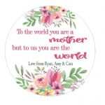 Mother's Day Flowers Plaque 3